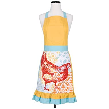 Kaf Home Funky Chicken Apron