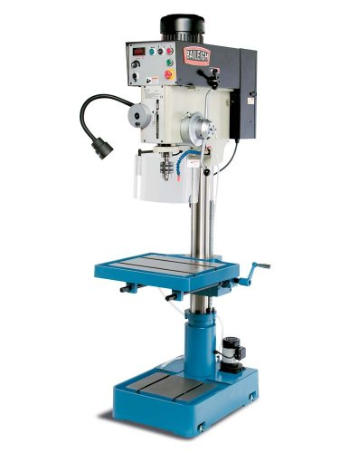 Baileigh DP-1500VS Variable Speed Drill Press, 1-Phase 220V, 2hp Motor, 1.5'' Capacity by Baileigh