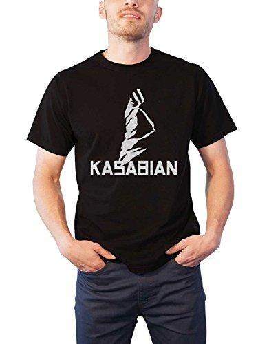 Kasabian T Shirt Ultra Face Tour 2004 Official Mens Black -