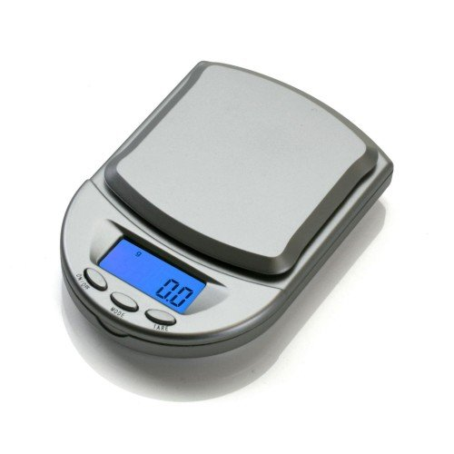 American Weigh Scales BCM-650-SL Pocket Size Digital Scale,