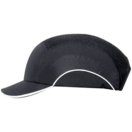 45d3fb2e3 A1 Hard Cap Bump Cap in BLACK, with 5 cm. Short Peak.