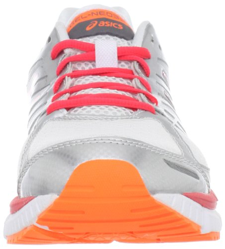 Asics Gel-Neo33 - Zapatillas de running de sintético para mujer White/Hot Punch/Flash Orange - Wht/H Punch/Flsh Orn