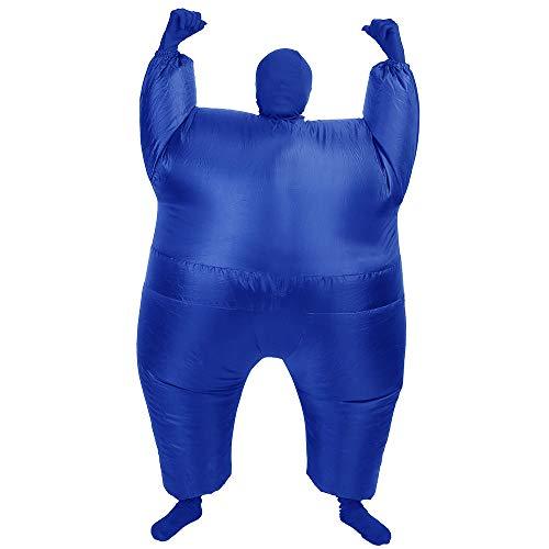 AltSkin Mega Suit Inflatable Zentai Costume, Blue -