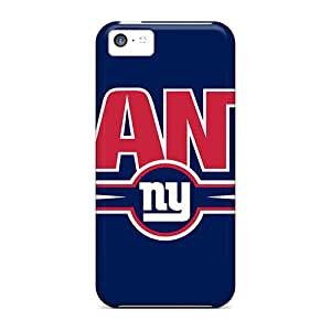 Protective Cell-phone Hard Cover For Iphone 5c With Custom Nice New York Giants Pattern ErleneRobinson