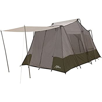 Amazon Com Trek Tents 237 Two Room Cabin Tent 8 X 13