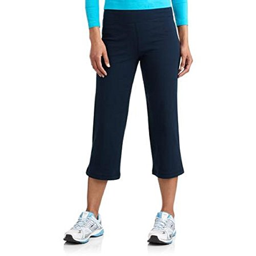 Bermuda Lounge (Womens Dri-more Stretch Core Capri Bermuda Pants Activewear Loungewear (XL, Navy) )