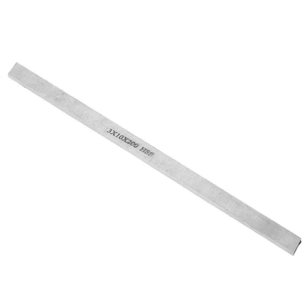 Herramienta de Torneado de Torno de Acero de Alta Velocidad Herramienta de Talla de Cuchillo de Talla de Barra de Barra de Acero Blanca Cuadrada 20MM 3 * 10 * 200mm