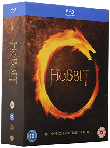 The Hobbit Trilogy [Blu-ray] [Region Free] [UK Import] [UV Not Available]