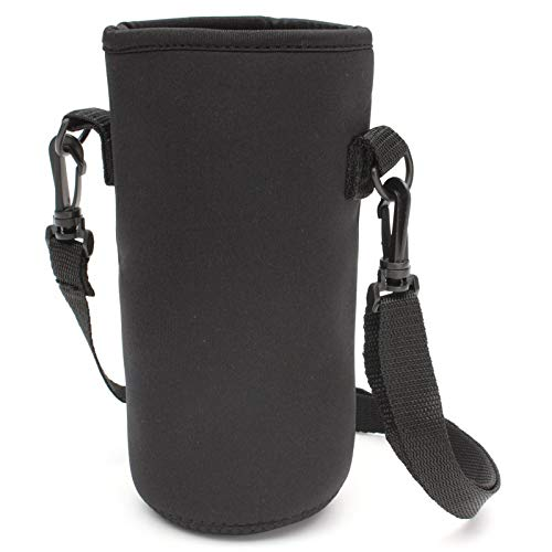 Water Bottle Cup Accessories - Reusable Sport Water Bottle Sleeve Cover Insulator Carry Bag Case Pouch Travelkettle Holder 64oz - 64oz Cup Carrier Cover Bag Bottle 64oz Carrier Water & D -