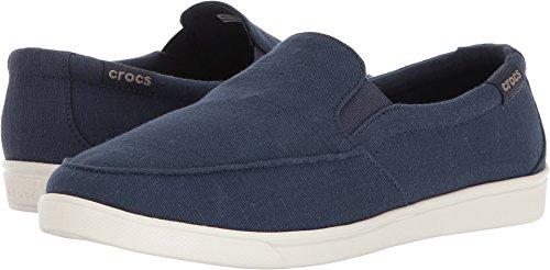 Crocs Women's Citilane Low Slipon W Sneaker, Navy, 5 M US