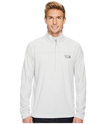 Mountain Hardwear Men's Microchill¿ Lite Zip T Grey Ice 1 Small