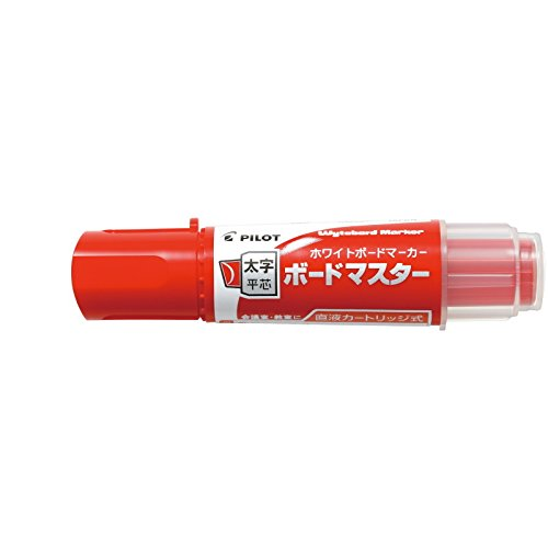 Pilot Whiteboard Marker Bord Marker - Flat Large - Red