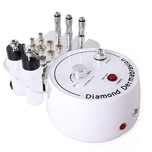 WAM Direct 3 in 1 Diamond Microdermabrasion Dermabrasion Machine Facial Care Salon Equipment for Personal Home Use (Suction Power: 0-55cmHg)