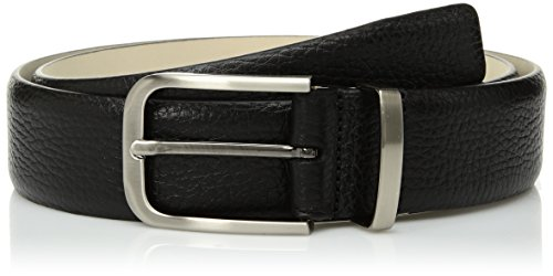Mezlan Men's Belts Men's Volga, Black, 360 (Mezlan Black Belt)
