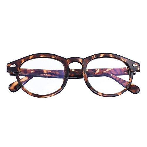 Bi Tao Tortoiseshell Round frame Reading Glasses +2.75 Strengths Readers Glasses for Men and - Round Glasses Tortoiseshell