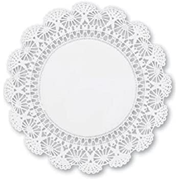 12 inch White Round Paper Lace Doilies - An elegant addition to your beautiful table settings (60)  sc 1 st  Amazon.com & Amazon.com: Doilies Paper Lace 12