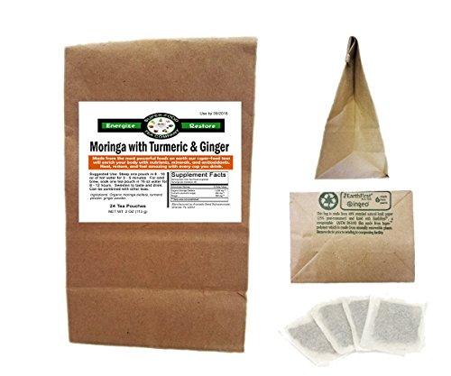 Moringa Turmeric Ginger Tea Bags product image