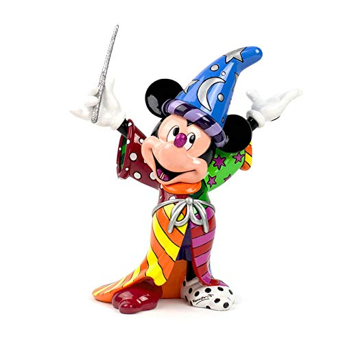 Disney by Britto Sorcerer Mickey Stone Resin Figurine (Resin Figurine Disney)