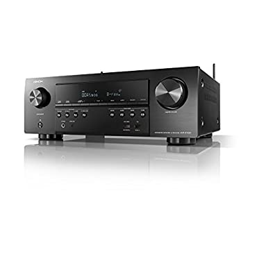 Denon AVR-S740H Receiver, 7.2 Channel 4K Ultra HD for Unmatched Realism, 3D Video, Dolby Surround Sound (Atmos, DTS/Virtual), Stream Music with Alexa Control, HEOS Wireless Speaker Expansion Built In
