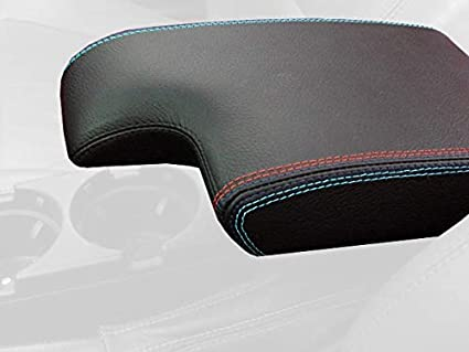 Black Leather-Red Thread RedlineGoods ebrake Boot Compatible with Mitsubishi Lancer Evo 7//8//9 2001-07