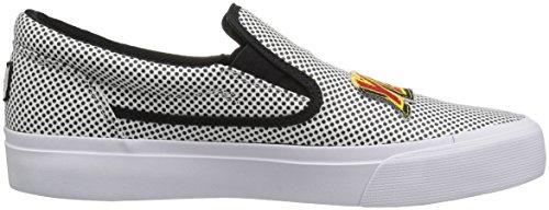 DC Frauen Trase Slip-On X Skate-Schuhe, EUR: 41, Black/White