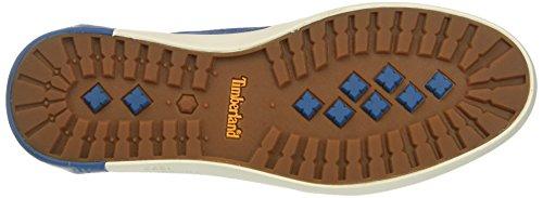 Timberland Mens Newport Bay 2 Oog Boot Ox Oxford Mykonos Blauw Doek