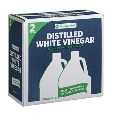 Member's Mark Distilled White Vinegar (1 gal. jug, 2 ct.) (pack of 6)