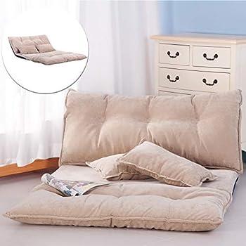 Amazon.com: XHLXHL Sofá cama japonés perezoso, cómoda silla ...