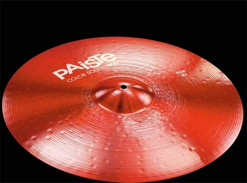 Paiste 20 Inches Color Sound 900 Red Ride Cymbal by Paiste