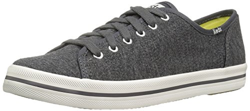 rt Textured Jersey Fashion Sneaker, Charcoal, 8.5 M US (Keds Lace Shoes)