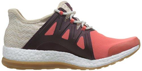 Adidas Pureboost Xpose Clima, Scarpe da Corsa Donna, Arancione (Corsen/Lino/Granat), 44 EU