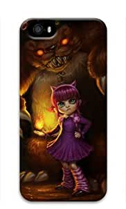 Annie League of Legends Game-003 Iphone 5/5S Hard Protective 3D Case by eeMuse