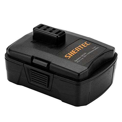 Shentec 3.0Ah 12V Battery Compatible with RYOBI CB120L CB121L BPL-1220 130503001 130503005, 12V Lithium Battery (NOT for CB120N)