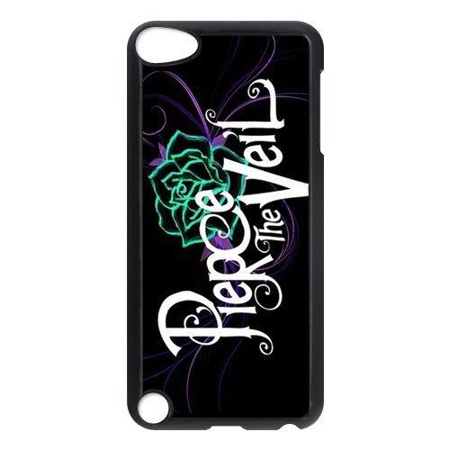 PIERCE THE VEIL Rose Unique Durable Hard Plastic Case Cover for Apple iPod Touch 5 Custom Design Fashion DIY (16gb Generation Nano Ipod 5th)