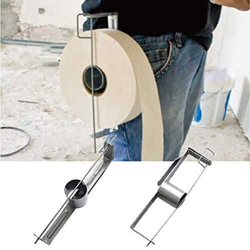 - UNBRUVO Mud Pan Tape Holder Drywall Tool Belt Hook Set Lightweight Joint Tapes Holders