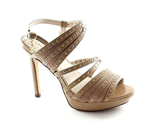 à Laura Biagiotti Plateaux 920 Talons Beige Hauts Chaussures Beige Femme Sandales dYFFpUwq