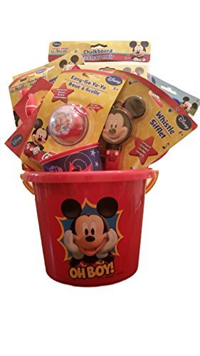 Disney Mickey Mouse Small Basket Perfect for Easter, Birthdays, Holidays, and Special Occassions