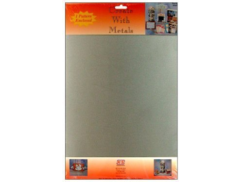 K&S Precision Metals 6520 Steel Plated Tin Sheet, 0.013