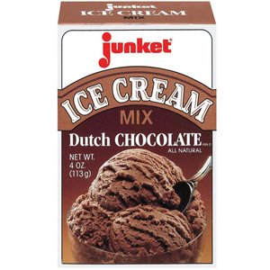 Junket Ice Cream Mix Chocolate 12 count