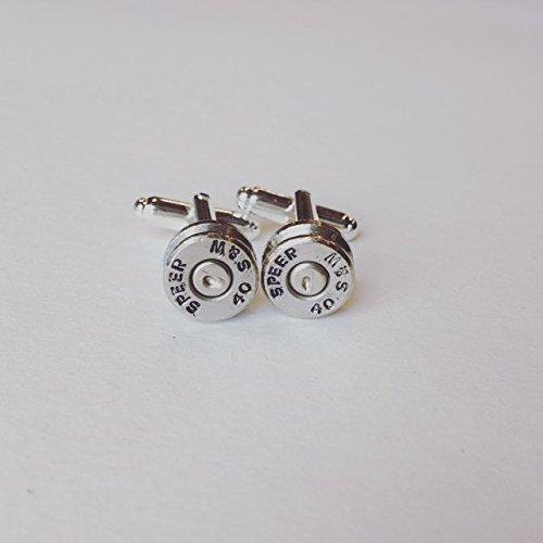 Speer 40 S& W Bullet Shell Cuff Links