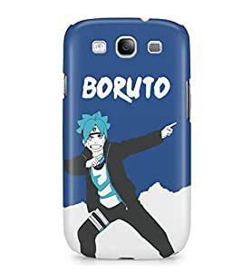 Boruto Naruto The Movie Naruto'S Son Boruto Hard Plastic Snap-On Case Skin Cover For Samsung Galaxy S3