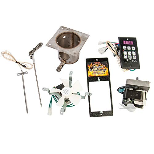 Pellet Pro Complete Upgrade Kit with PID Controller - Compatible with Other Brands