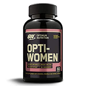 Optimum Nutrition ON Optiwomen, Comprimés Multivitaminés pour Femme, Complément Alimentaire avec Vitamines et Mineraux…