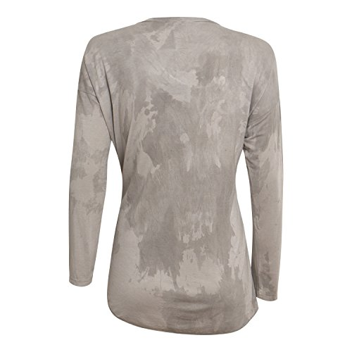 Damen Langarmshirt Cor - von Diff - Farbe Taupe