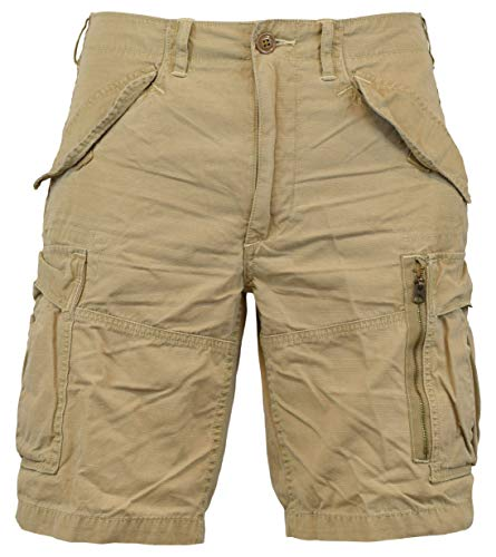 Polo Ralph Lauren Men's Classic-Fit Ripstop Cotton Cargo Shorts - 30 - Boating ()