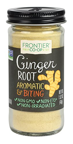 (Frontier Ginger Root Ground, 1.52-Ounce Bottle )