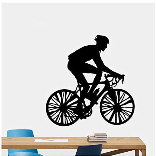 Bicicleta decorativa vinilos decorativos PVC salón dormitorio ...