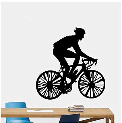Bicicleta decorativa vinilos decorativos PVC salón dormitorio 52x54cm: Amazon.es: Bricolaje y herramientas