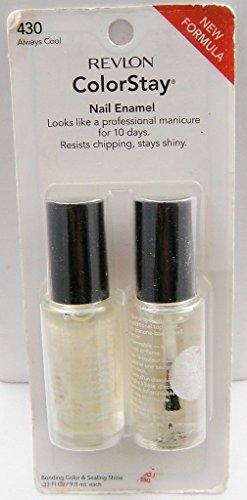 Revlon Colorstay Nail Enamel - Always Cool 430
