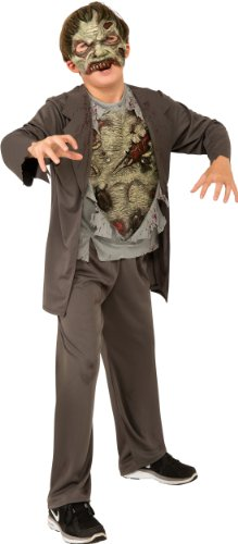 Zombie Girl Costumes (Zombie Costume, Grey, Medium)